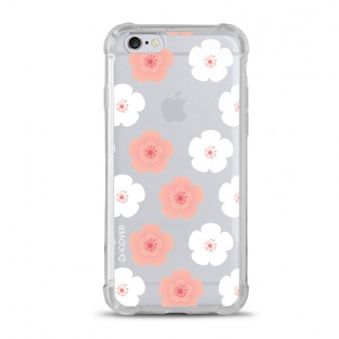 Capa Anti-Impacto para iPhone 6/6s Plus iCover Flores Geranios
