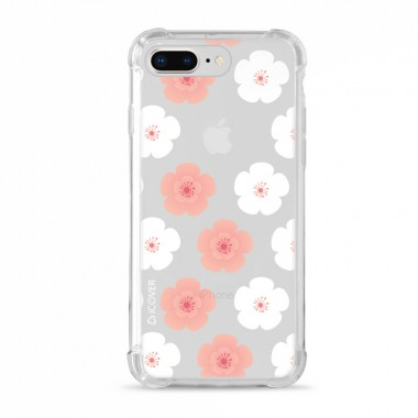 Capa Anti-Impacto para iPhone 7/8 Plus iCover Flores Geranios