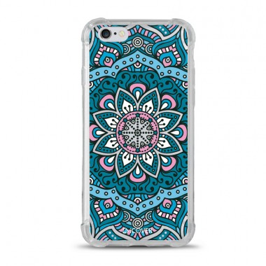 Capa Anti-Impacto para iPhone 6/6S iCover Mandala Blue