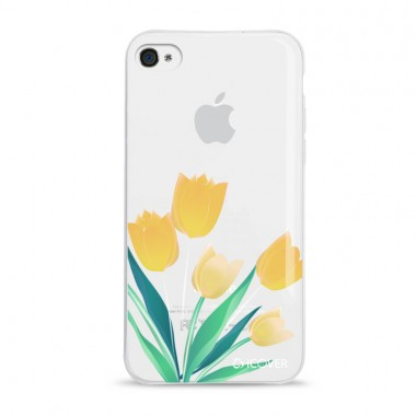 Capa Para iPhone 4/4s iCover Flores - Tupilas - ICO2490TL