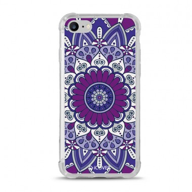 Capa Anti-Impacto para iPhone 7/8 iCover Mandala Purple