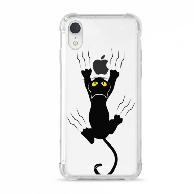 Capa Anti-Impacto para iPhone XR  iCover Black Cat Help