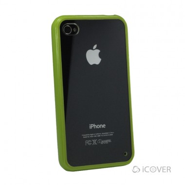 Capa Para iPhone 4 / 4s - iCover Frame Case - Verde | ICO580VD