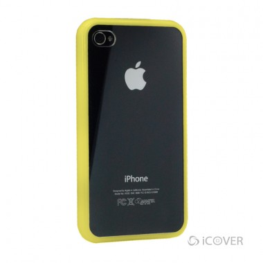 Capa Para iPhone 4 / 4s - iCover Frame Case - Amarelo | ICO580AM