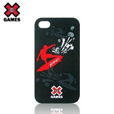 Case Para iPhone 4/4S Acrilico Emborrachada - X Games Edition: Breaking Waves - XG-IF1101B-4