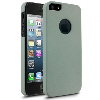 Capa Cellairis Para iPhone 5/5S/SE- Stealth Textured Cinza -  Policarbonato Emborrachado - 39-0110412R