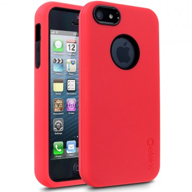 Capa Cellairis Para iPhone 5/5S/SE -  Rapture® Elite Case Vermelhol/Preta - 42-005062R