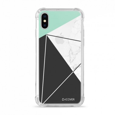 Capa Anti-Impacto para iPhone X  iCover  Abstract