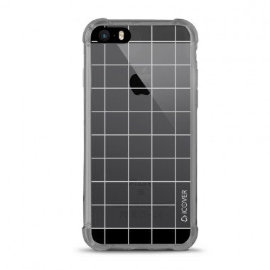 Capa para iPhone 5/5S/SE iCover Grid - Branco - ICO6128BR