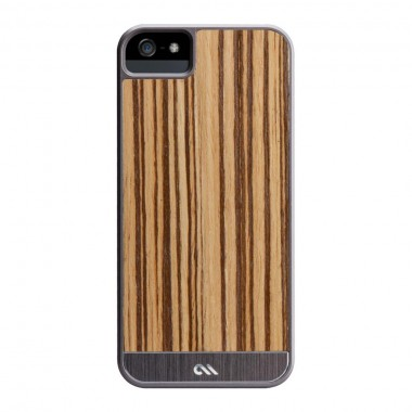Capa Case-Mate Woods para iPhone 5/5S/SE- Zebrawood  - Artistry Series | CM022436