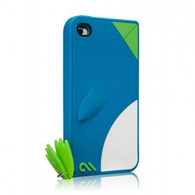Capa Case-Mate para iPod Touch 4th gen - Pinguim  Azul - CM015620