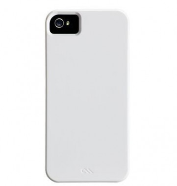 Capa Case-mate para iPhone 5/5S/SE  Barely There - Branco Brilhante - CM022392