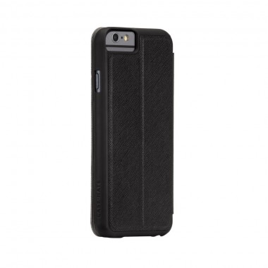 Capa / Carteira Para iPhone 6 - Case-mate Stand Folio Case - Preto e Cinza | CM031405