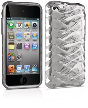 Capa para iPod Touch 4th Philips - Stand out + Protect - Transparente - DLA4241D