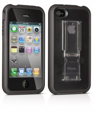 Capa Philips Acrilico iPhone 4/4S - Protection Grip & Stand - DLM1392/17