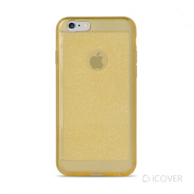 Capa Para iPhone 6/6S Plus iCover Essencial Lady - Amarelo - ICO2355AM