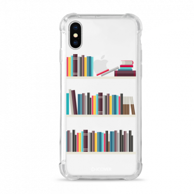 Capa Anti-Impacto para iPhone X Plus iCover Leitura Estante