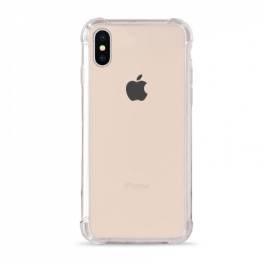 Capa Anti-Impacto para iPhone XS MAX  iCover Transparente Lisa