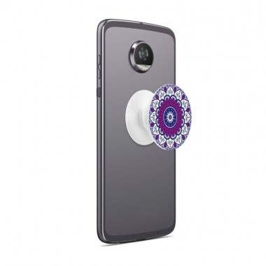 Pocket Socket Personalizado Mandala Purple
