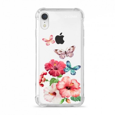 Capa Anti-Impacto para iPhone XR Hibisco