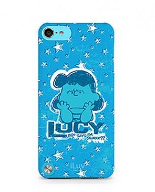 Case iLuv para iPod Touch 5  - Hardshell Case Peanuts Snoopy -  ICA6H381BLU