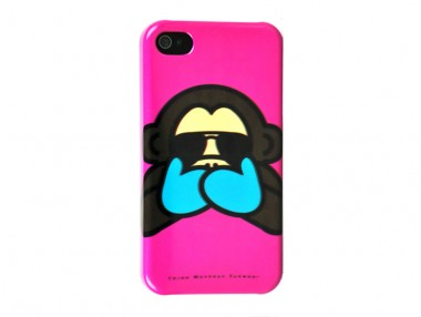 Capa iPhone 5/5S/SE Pink Monkeys - three Monkeys Eyewear - UD-SK3M501