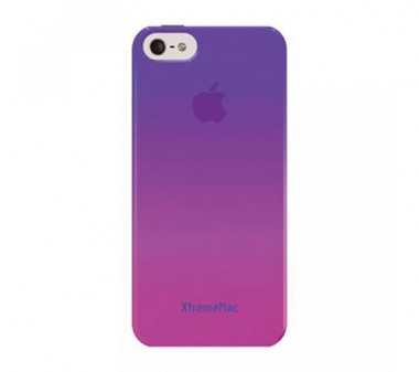 Capa XtremeMac Gradient Finish Case para iPhone 5/5S/SE - Rosa para Roxo/lilás - Microshield IPP-MFN 33