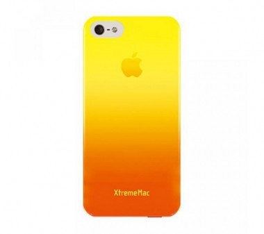Capa XtremeMac Gradient Finish Case para iPhone 5/5S/SE-  Laranja para Amarelo - Microshield IPP-MFN93
