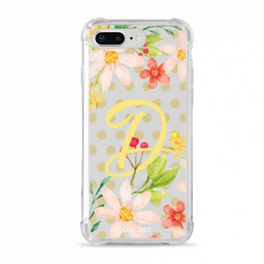 Capa Anti-Impacto para iPhone 7/8 Plus iCover Letras D - ICO6361