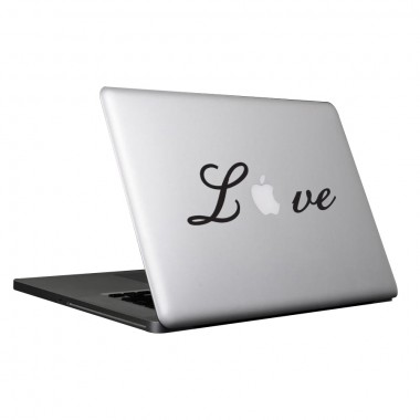 Adesivos Para Macbook - Love - mac05