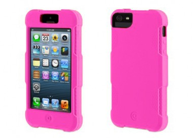 Capa Para iPhone 5 / 5S - Griffin Protector  - Rosa - GB35671
