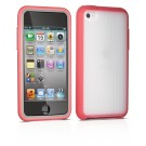 Capa iPod Touch 4th Philips Slicione - Protection Plus - Bordas Vermelho - DLA4243
