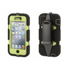 Capa para iPhone 5/5S/SE - Survivor Griffin - Preto com Verde - GB35681